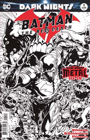 Batman The Red Death #1 Cover D 4th Ptg Variant Jason Fabok Cover (Dark Nights Metal Tie-In)