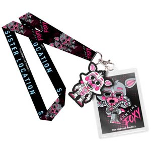 POP Lanyard Five Nights At Freddys Sister Location - Funtime Foxy