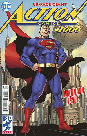 Action Comics Vol 2 #1000 Cover A Regular Jim Lee & Scott Williams Cover