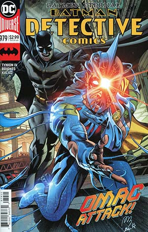 Detective Comics Vol 2 #979 Cover A Regular Alvaro Martinez & Raul Fernandez Cover