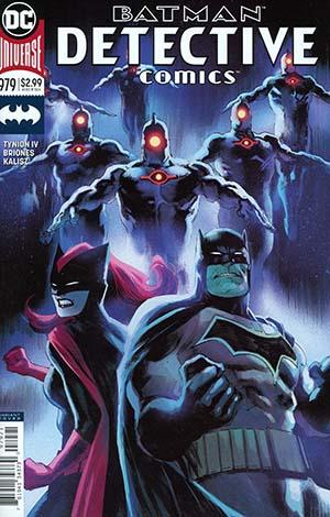 Detective Comics Vol 2 #979 Cover B Variant Rafael Albuquerque Cover