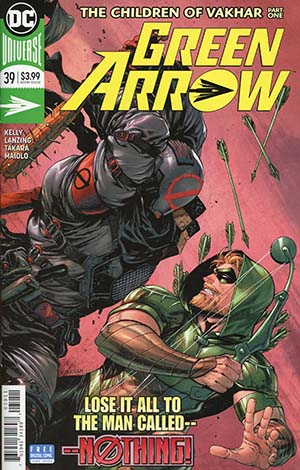 Green Arrow Vol 7 #39 Cover A Regular Tyler Kirkham Cover