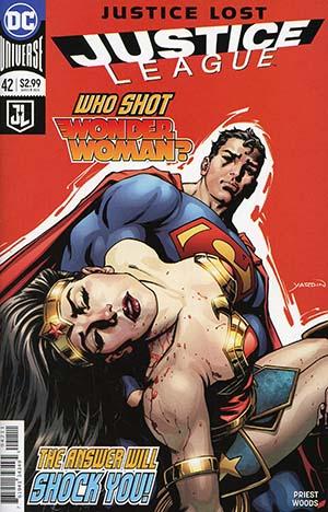 Justice League Vol 3 #42 Cover A Regular David Yardin Cover