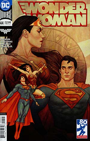 Wonder Woman Vol 5 #44 Cover B Variant Jenny Frison Cover