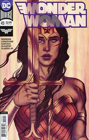 Wonder Woman Vol 5 #45 Cover B Variant Jenny Frison Cover
