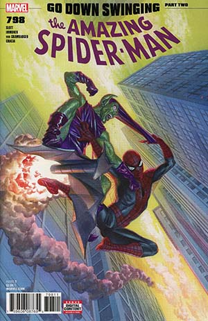 Amazing Spider-Man Vol 4 #798 Cover A 1st Ptg Regular Alex Ross Cover