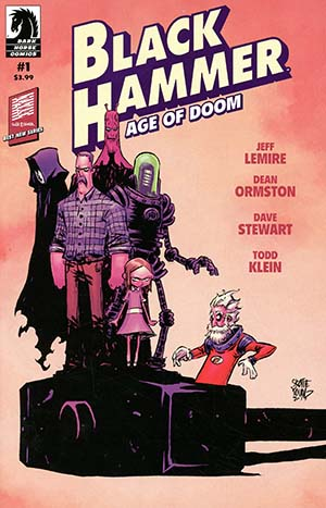 Black Hammer Age Of Doom #1 Cover B Variant Skottie Young Cover