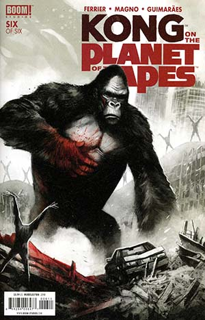 Kong On The Planet Of The Apes #6 Cover A Regular Mike Huddleston Cover