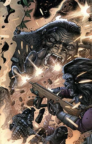 Kong On The Planet Of The Apes #6 Cover B Variant Carlos Magno Connecting Cover