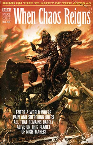 Kong On The Planet Of The Apes #6 Cover C Variant Fay Dalton Pulp Cover