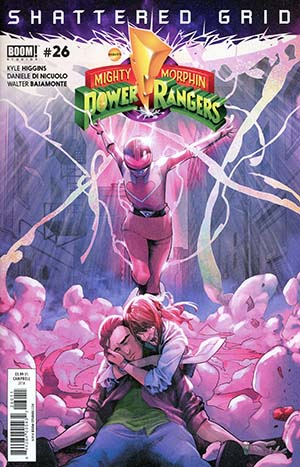 Mighty Morphin Power Rangers (BOOM Studios) #26 Cover A Regular Jamal Campbell Cover