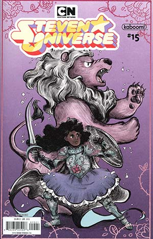 Steven Universe Vol 2 #15 Cover B Variant Jade Lee Subscription Cover