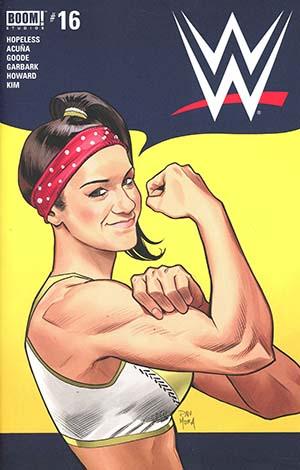 WWE #16 Cover A Regular Dan Mora Cover