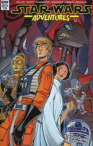 Star Wars Adventures Annual 2018 Cover A Regular Jon Sommariva Cover