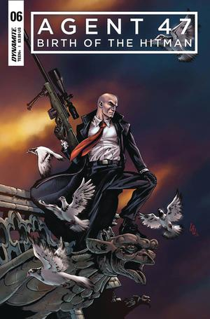 Agent 47 Birth Of The Hitman #6 Cover A Regular Jonathan Lau Cover