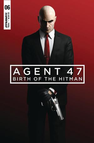 Agent 47 Birth Of The Hitman #6 Cover B Variant Gameplay Cover