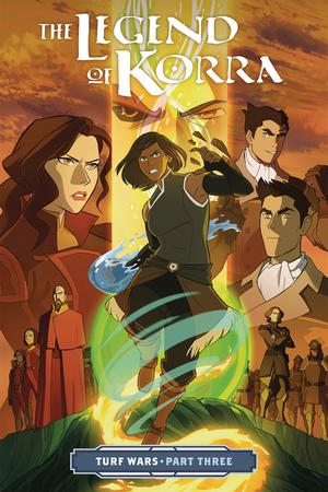 Legend Of Korra Vol 3 Turf Wars Part 3 TP