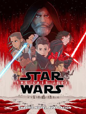 Star Wars Episode VIII The Last Jedi Graphic Novel Adaptation TP