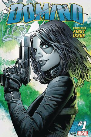 Domino Vol 3 #1 Cover I DF Gold Signature Series Signed By Greg Land