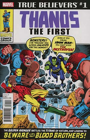True Believers Thanos The First #1