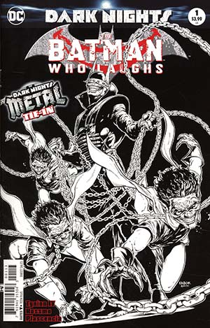Batman Who Laughs #1 Cover C 3rd Ptg Variant Jason Fabok Cover (Dark Nights Metal Tie-In)