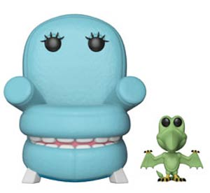 POP Television Pee-Wees Playhouse Chairry With Pterri Vinyl Figure