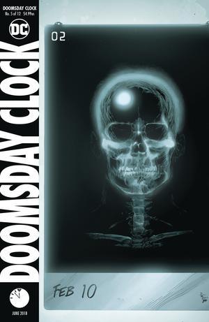 Doomsday Clock #5 Cover A Regular Gary Frank Cover