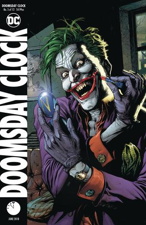 Doomsday Clock #5 Cover B Variant Gary Frank Cover