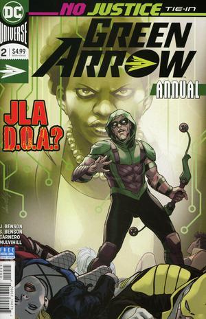 Green Arrow Vol 7 Annual #2 (Justice League No Justice Tie-In)