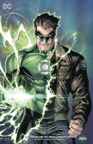 Hal Jordan And The Green Lantern Corps #45 Cover B Variant Tyler Kirkham Cover