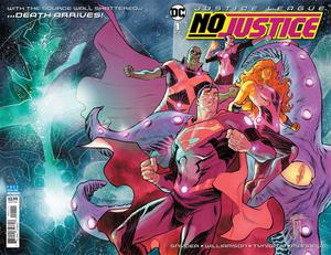 Justice League No Justice #1 Cover A Regular Francis Manapul Wraparound Cover