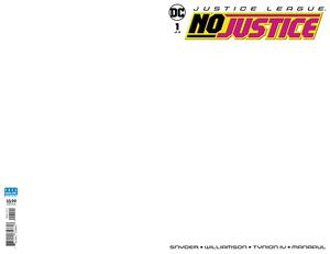 Justice League No Justice #1 Cover B Variant Blank Cover