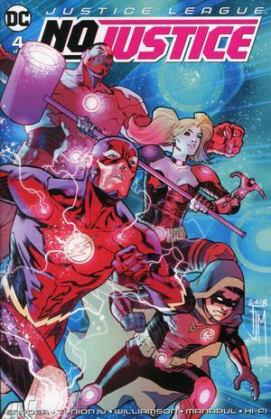 Justice League No Justice #4