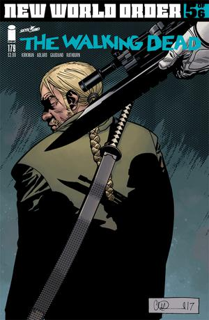 Walking Dead #179 Cover A Regular Charlie Adlard & Dave Stewart Cover