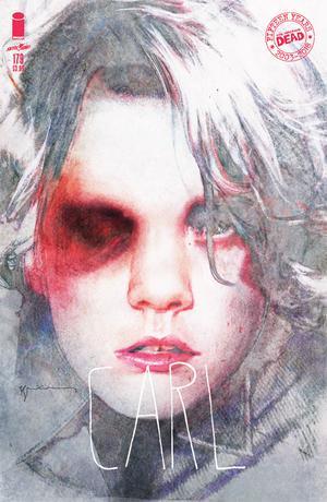 Walking Dead #179 Cover B Variant Bill Sienkiewicz Cover