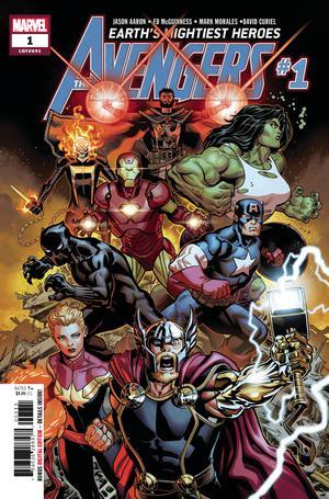 Avengers Vol 7 #1 Cover A Regular Ed McGuinness Cover