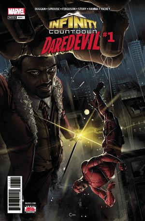 Infinity Countdown Daredevil #1 Cover A Regular Clayton Crain Cover
