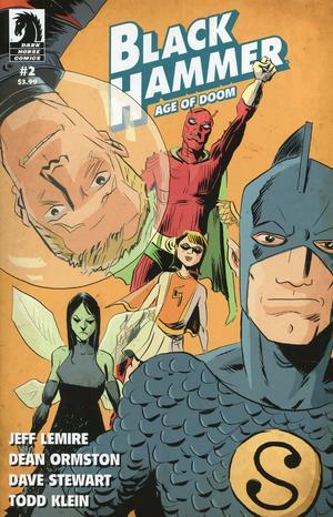 Black Hammer Age Of Doom #2 Cover B Variant Jeff Lemire Cover