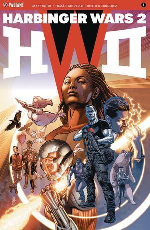 Harbinger Wars 2 #1 Cover A Regular JG Jones Cover