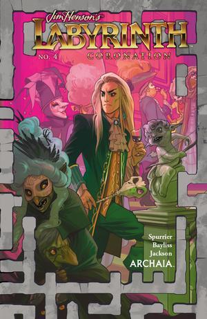 Jim Hensons Labyrinth Coronation #4 Cover A Regular Fiona Staples Cover