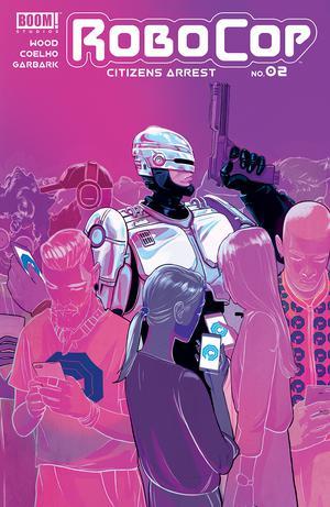 Robocop Citizens Arrest #2 Cover A Regular Nimit Malavia Cover