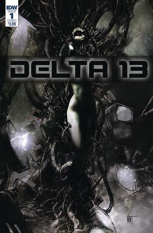 Delta 13 #1 Cover A Regular Nat Jones Cover