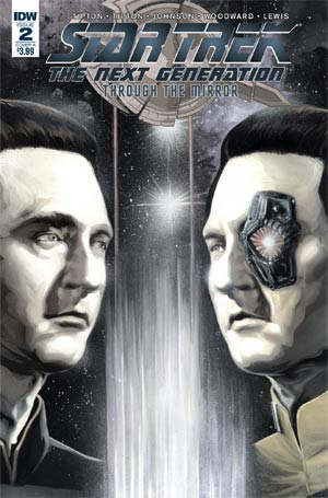 Star Trek The Next Generation Through The Mirror #2 Cover A Regular JK Woodward Cover