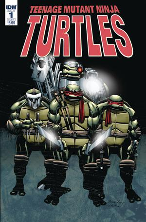 Teenage Mutant Ninja Turtles Urban Legends #1 Cover A Regular Frank Fosco Cover