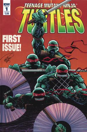 Teenage Mutant Ninja Turtles Urban Legends #1 Cover B Variant Erik Larsen Cover