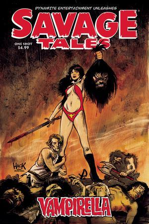 Savage Tales Vampirella One Shot