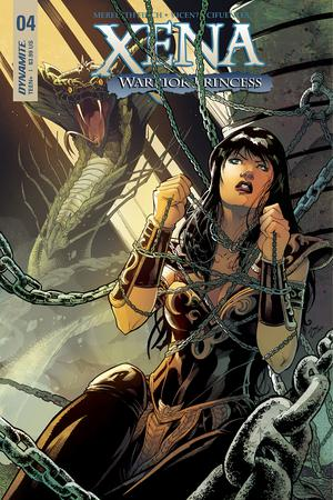Xena Vol 2 #4 Cover B Variant Vincente Cifuentes Cover