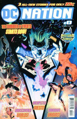 DC Nation #0  Midtown Edition Jorge Jimenez Cover