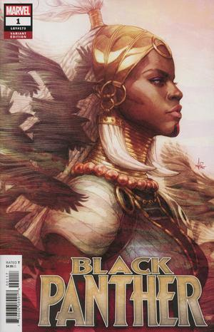 Black Panther Vol 7 #1 Cover C Variant Stanley Artgerm Lau Cover