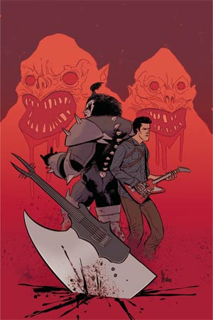 KISS Army Of Darkness #4 Cover D Incentive Kyle Strahm Virgin Cover